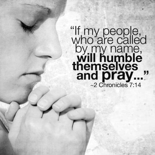 Prayer Day 1